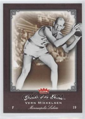 2005-06 Fleer Greats of the Game #43 - Vern Mikkelsen