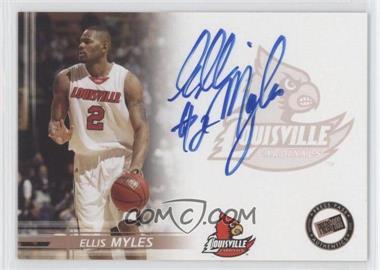 2005-06 Press Pass - Autographs - Bronze #ELMY - Ellis Myles