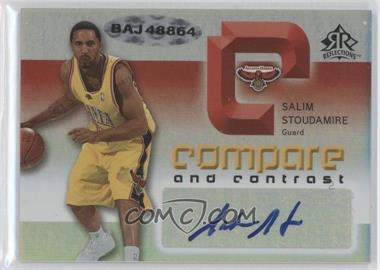 2005-06 Reflections Compare and Contrast Autographs #CCA-SF - [Missing] /30