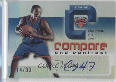 2005-06 Reflections Compare and Contrast Autographs #CCA-SF - Salim Stoudamire, Channing Frye /30