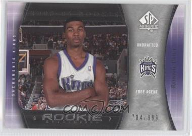 2005-06 SP Authentic #133 - Ronnie Price /999