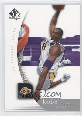 2005-06 SP Authentic #38 - Kobe Bryant
