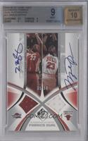 Lebron James, Michael Jordan /50 [BGS 9]