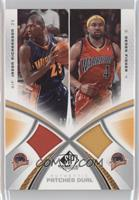 Jason Richardson, Derek Fisher /15