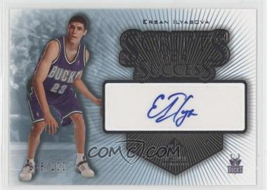 2005-06 SP Signature Edition - Scripts for Success - [Autographed] #SS-EI - Ersan Ilyasova /200
