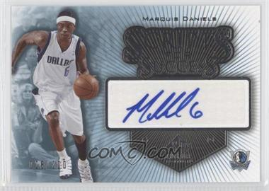 2005-06 SP Signature Edition - Scripts for Success - [Autographed] #SS-MD - Marquis Daniels /200