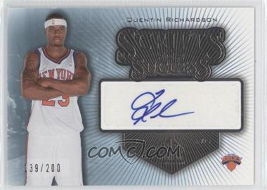 2005-06 SP Signature Edition - Scripts for Success - [Autographed] #SS-QR - Quentin Richardson /200
