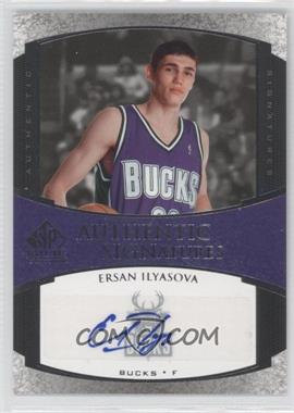 2005-06 SP Signature Edition Authentic Signatures [Autographed] #AS-ES - Ersan Ilyasova