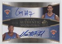 Channing Frye, Nate Robinson /25