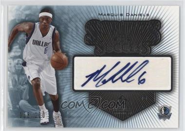 2005-06 SP Signature Edition Scripts for Success [Autographed] #SS-MD - Marquis Daniels /200