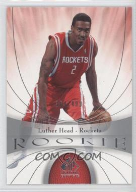 2005-06 SP Signature Edition #122 - Luther Head /499