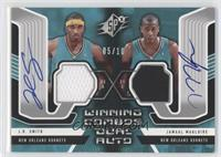 J.R. Smith, Jamaal Magloire /10
