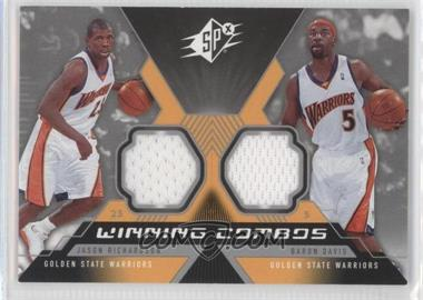 2005-06 SPx Winning Combos Materials #WC-RD - Jason Richardson, Baron Davis