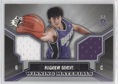 2005-06 SPx Winning Materials #WM-AB - Andrew Bogut