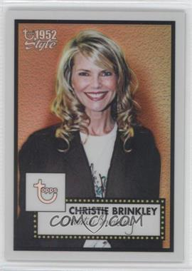 2005-06 Topps 1952 Style - [Base] - Chrome Refractor #161 - Christie Brinkley /299