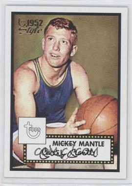 2005-06 Topps 1952 Style - [Base] #7 - Mickey Mantle
