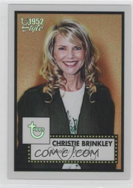 2005-06 Topps 1952 Style Chrome Refractor #161 - Christie Brinkley /299