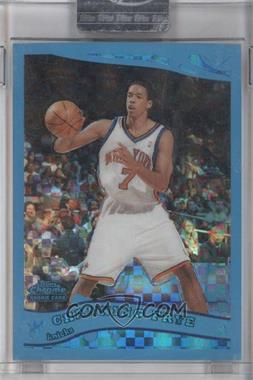 2005-06 Topps Chrome Blue X-Fractor #206 - Channing Frye /90