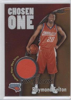 2005-06 Topps Chrome Chosen One #CO-RF - Raymond Felton /400