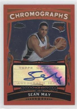 2005-06 Topps Chrome Chromographs [Autographed] #CH-SMY - Sean May /208