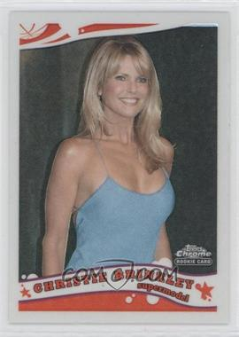 2005-06 Topps Chrome Refractor #216 - Christie Brinkley /999