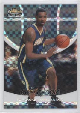 2005-06 Topps Finest - [Base] - Black X-Fractor #156 - Shawne Williams /9