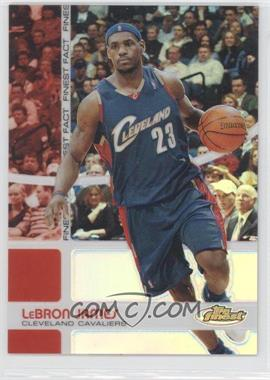 2005-06 Topps Finest Finest Fact Refractor #FF23 - Lebron James /199