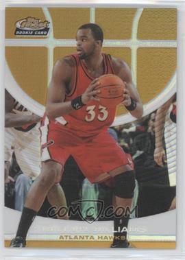 2005-06 Topps Finest Gold Refractor #144 - Shelden Williams /59