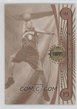 2005-06 Topps First Row Sepia-Tone #122 - Monta Ellis /25