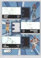 Chris Paul, J.R. Smith, Brandon Bass /250