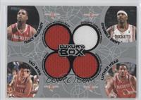 Tracy McGrady, Stromile Swift, Yao Ming, Luther Head /25