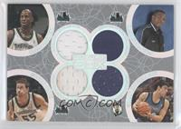 Kevin Garnett, Rashad McCants, Marko Jaric, Wally Szczerbiak /193