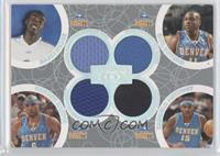Julius Hodge, Kenyon Martin, Earl Boykins, Carmelo Anthony /193