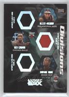 Allen Iverson, Ben Gordon, Dwyane Wade, Kobe Bryant, Tracy McGrady, Ray Allen /…