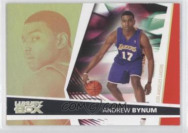 2005-06 Topps Luxury Box Loge Level #143 - Andrew Bynum /200