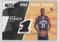 Hakim Warrick /25