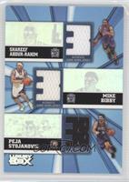 Shareef Abdur-Rahim, Mike Bibby, Peja Stojakovic /250