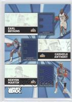 Earl Boykins, Carmelo Anthony, Kenyon Martin, Rocky /250