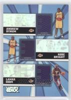 Andrew Bynum, Kobe Bryant, Lamar Odom /250
