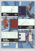 Kobe Bryant, Tracy McGrady, Allen Iverson /250