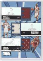 Larry Hughes, Zydrunas Ilgauskas, Drew Gooden /250