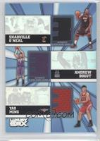 Shaquille O'Neal, Yao Ming, Andrew Bogut /250