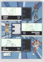 Chris Paul, Brent Barry, J.R. Smith, Brandon Bass /250