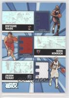 Dwyane Wade, Kirk Hinrich, Jason Terry /250