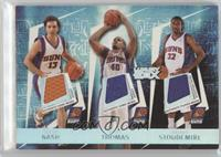 Steve Nash, Amare Stoudamire, Shawn Marion, Leandro Barbosa, Kurt Thomas /193