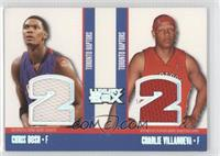 Chris Bosh, Charlie Villanueva /193