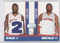 Ben Wallace, Rasheed Wallace /193