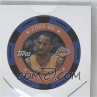 2005-06 Topps NBA Collector Chips Blue #KOBR - Kobe Bryant