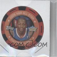2005-06 Topps NBA Collector Chips Red #DWWA - Dwyane Wade