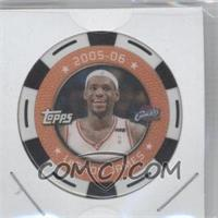 2005-06 Topps NBA Collector Chips #LEJA - Lebron James